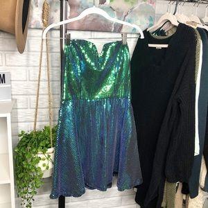 """Charlotte Russe // Sequin """"mermaid"""" dress"""